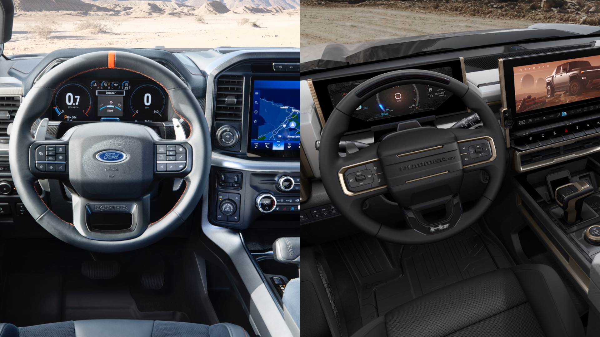 interior side by side