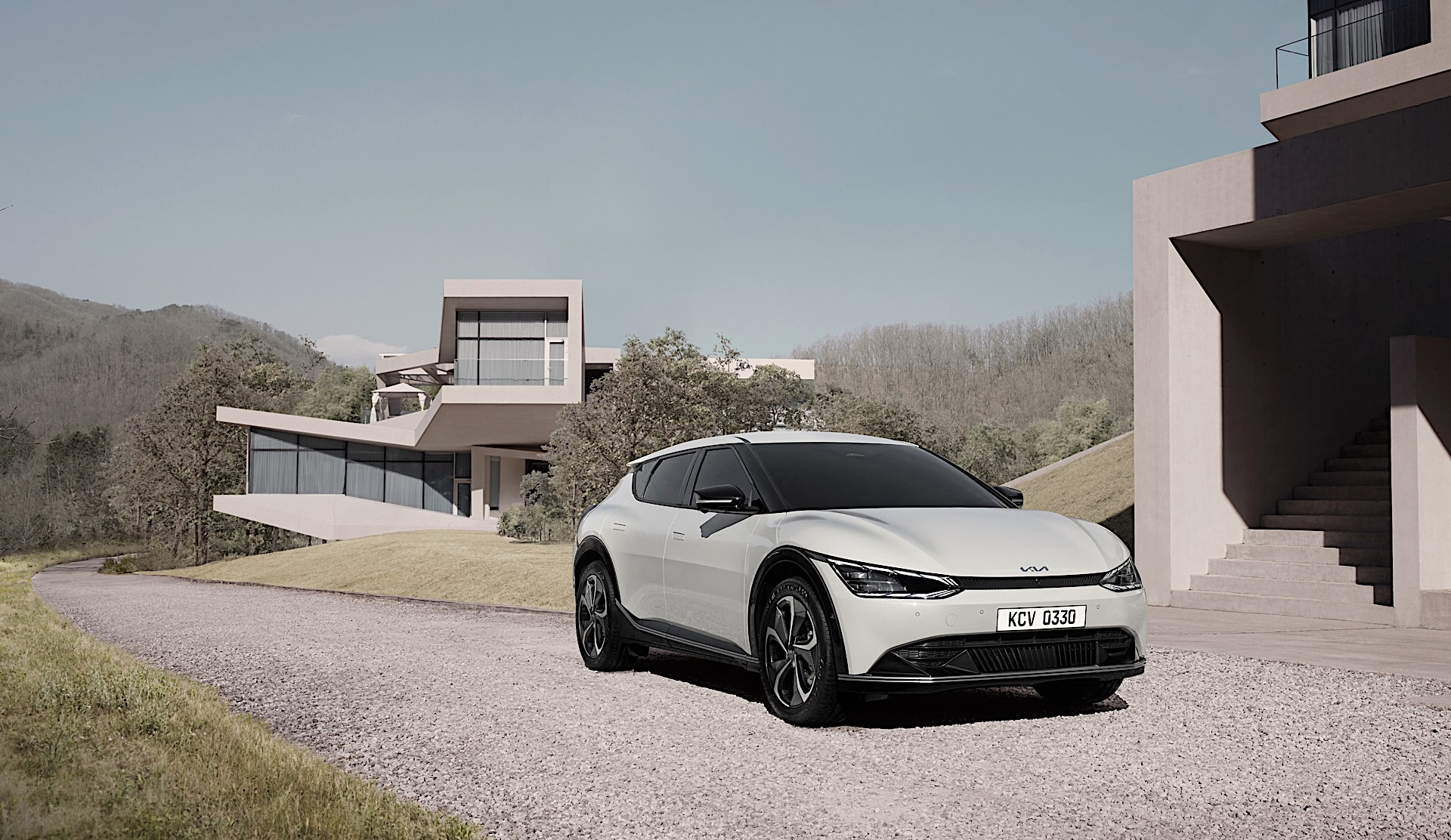 17213 Kia reveals new design philosophy and full images of EV6 1